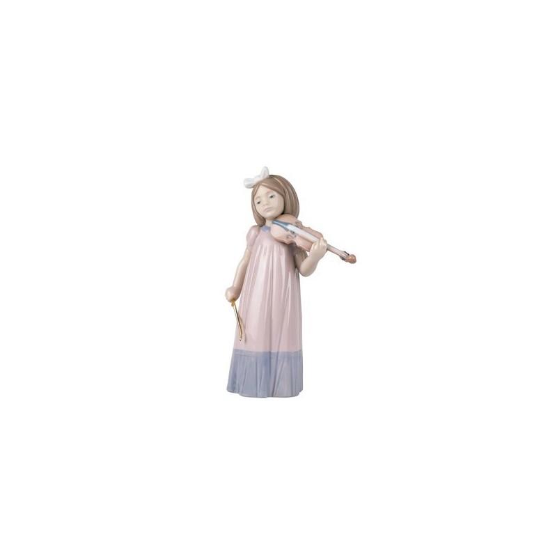 Niña con violín