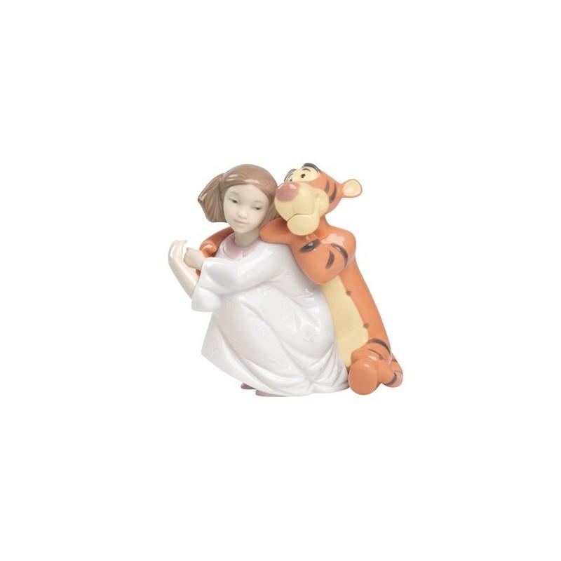 Un abrazo de Tigger