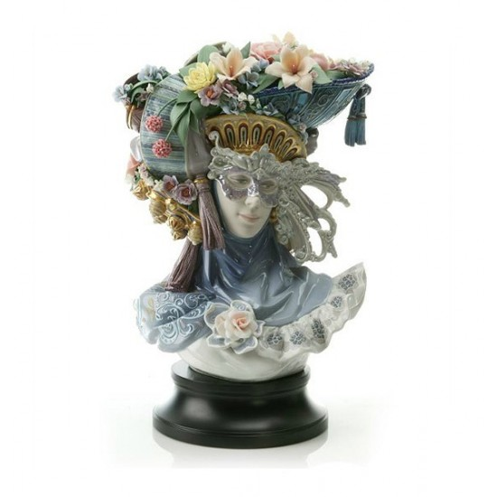 Figura de porcelana de Lladró Fantasía Veneciana