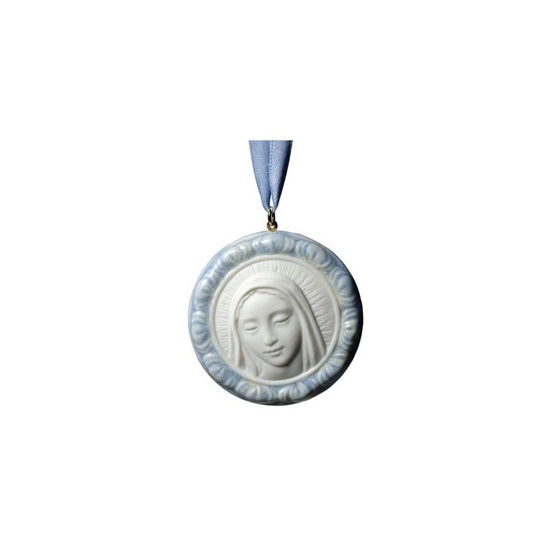 Medalla protectora - Virgen María (azul)