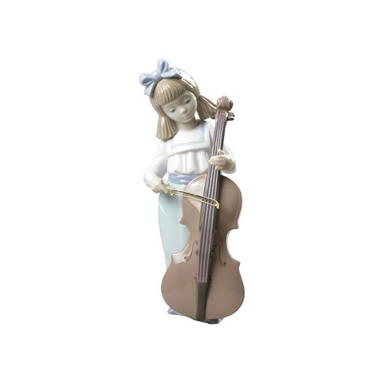 Niña con violonchelo