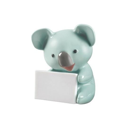 Koala con mensaje (turquesa)