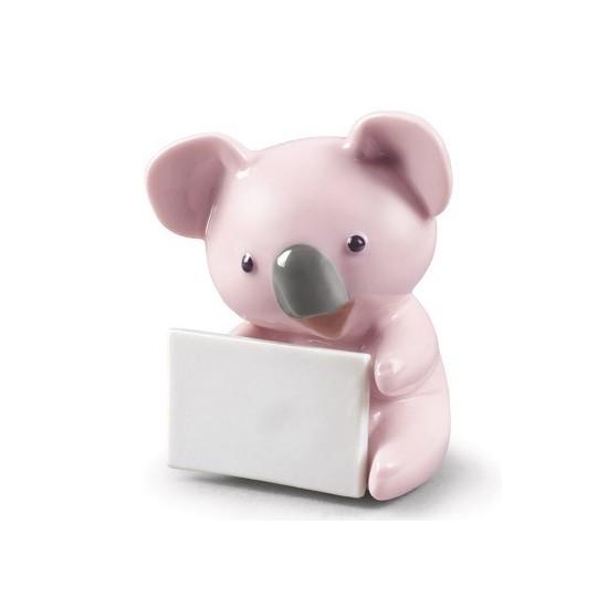 Koala con mensaje (rosa)