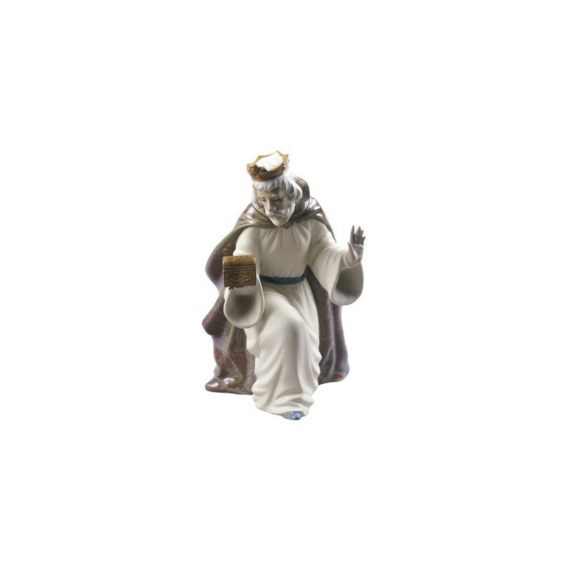 Rey Melchor con cofre