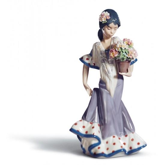 Figura de porcelana de Lladró Gitanilla de Triana