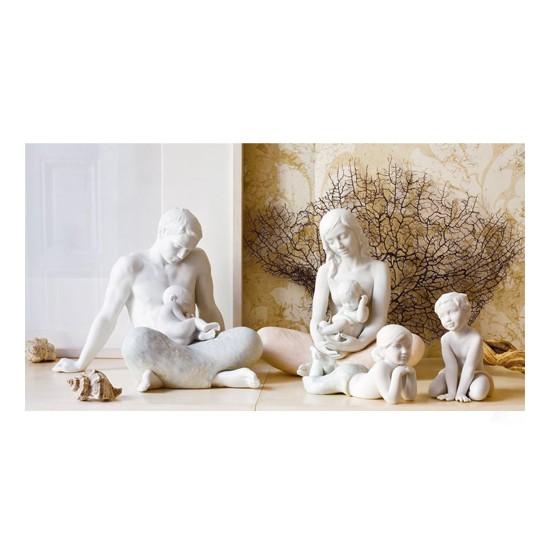 Figura de porcelana de Lladró Familia (El padre)