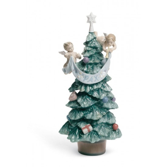 Evergreen of Peace Tree Figurine