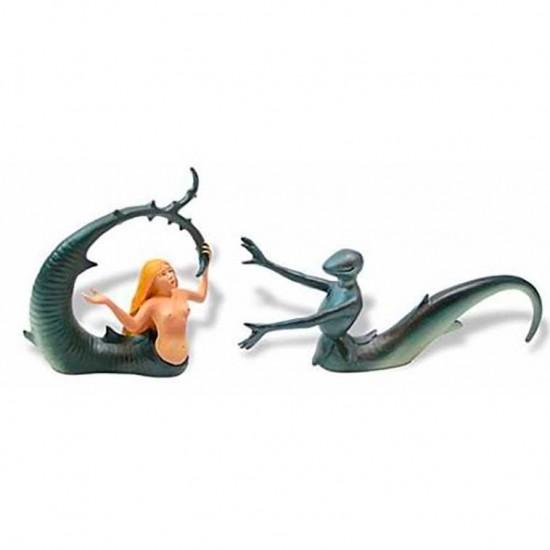 Knight and Mermaid