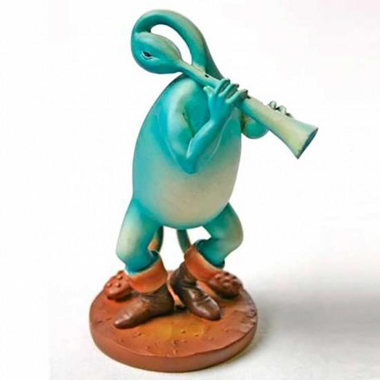 Blue Flutist