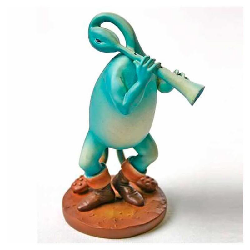Flautista Azul