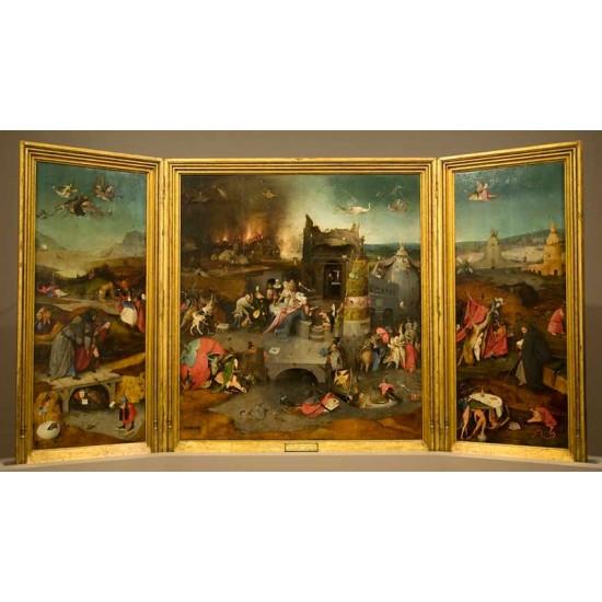 Triptych of San Antonio Abad
