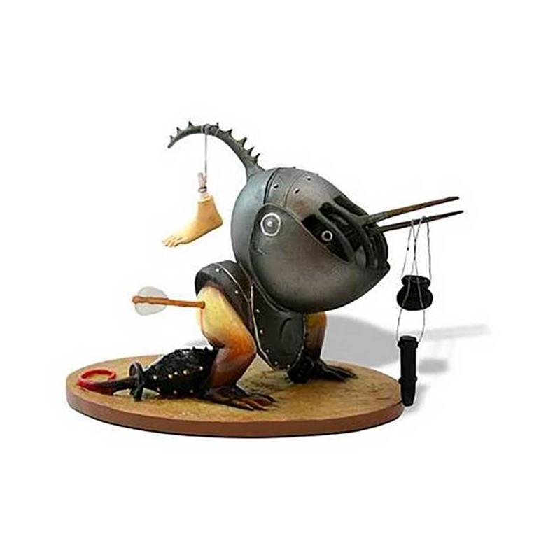 Helmeted Bird Monster