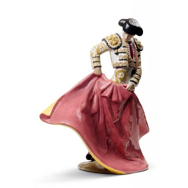 Figura de porcelana de Lladró Maestro Torero (Blanco)