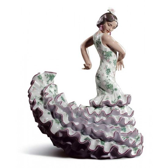 Flamenco Art (Green / Violet)