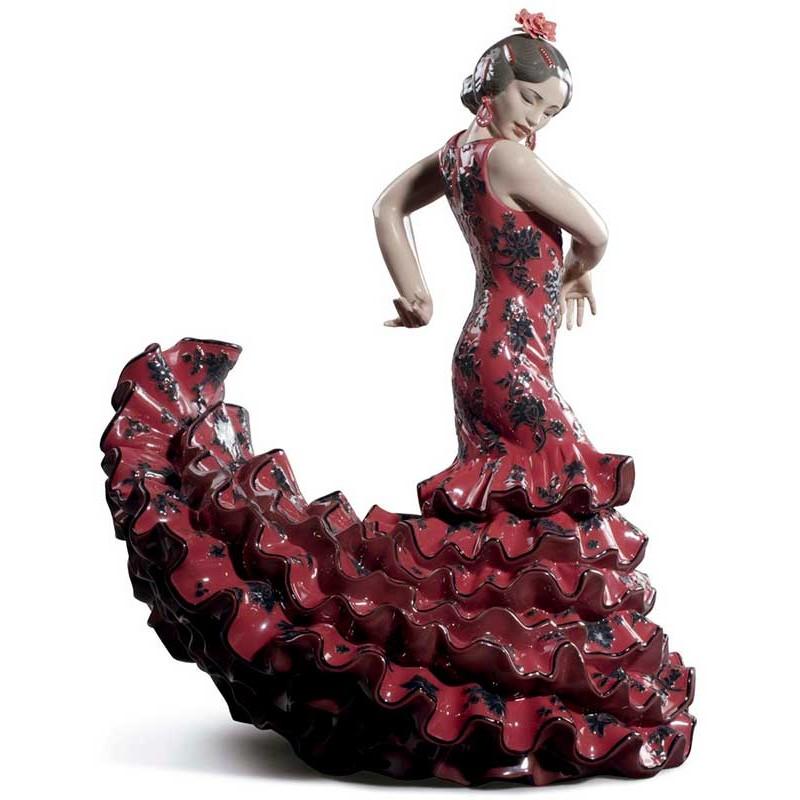 Figura de Lladró Arte Flamenco (Rojo)