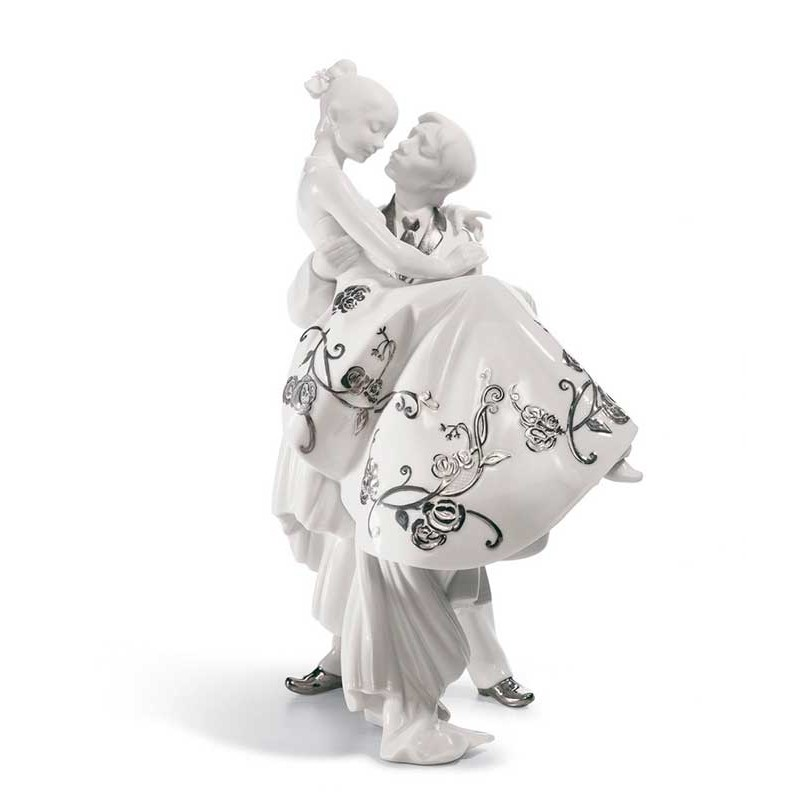 Figura de porcelana de Lladró El Día Más Feliz (Re-Deco)