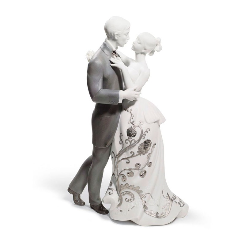 Figura de porcelana de Lladró El Vals de los Novios (Re-Deco)