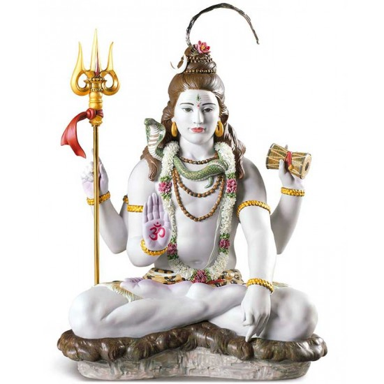 Figura de porcelana Lladró Lord Shiva