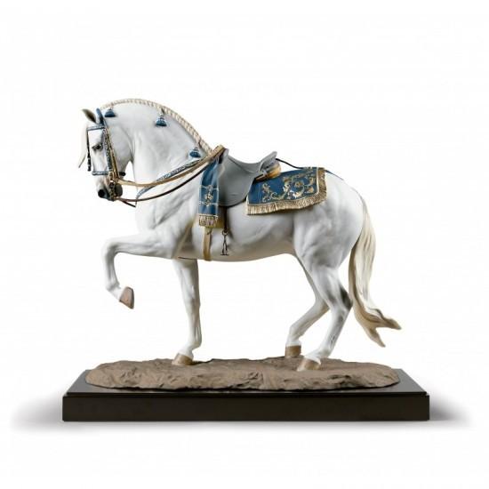 Figura de porcelana de Lladró Caballo español