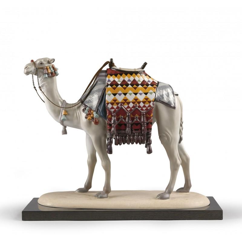 Figura de porcelana de Lladró Camello