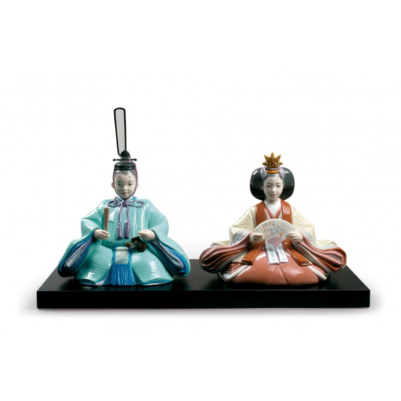 Figura de porcelana Lladró Hinamatsuri Festival