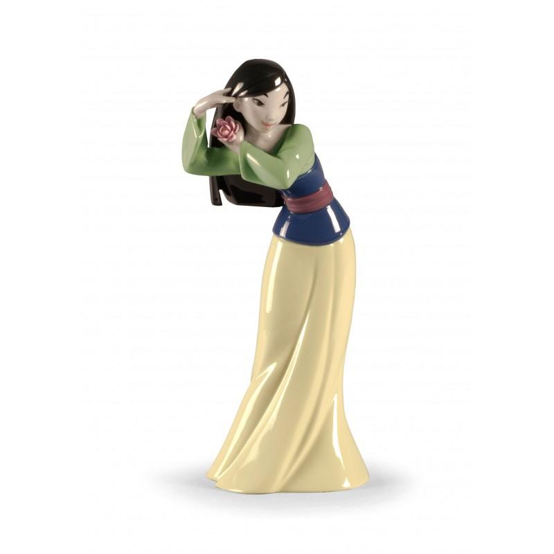 Figura de porcelana de Lladró Mulan