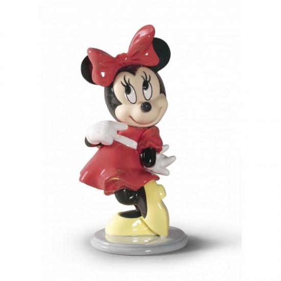 Figura de porcelana de Lladró Minnie Mouse