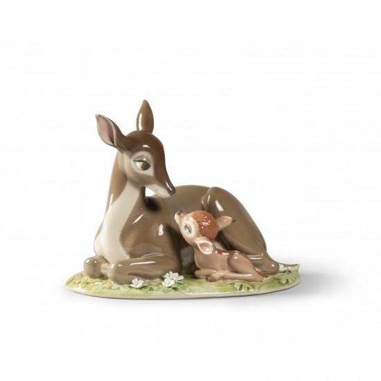 Figura de porcelana de Lladró Bambi