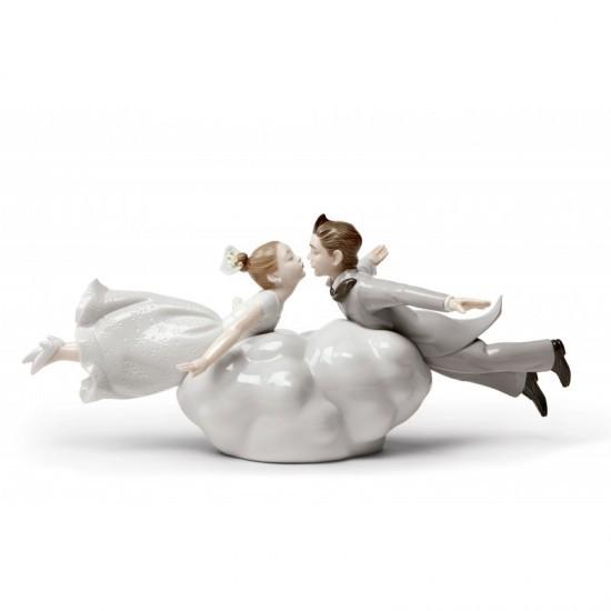 Figura de porcelana de Lladró Love is in the air