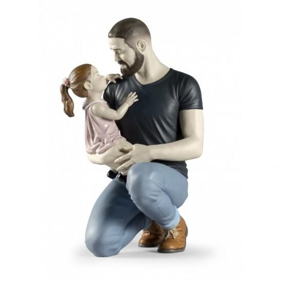 En los brazos de papá