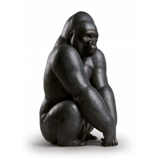 Figura de porcelana de Lladró Gorila