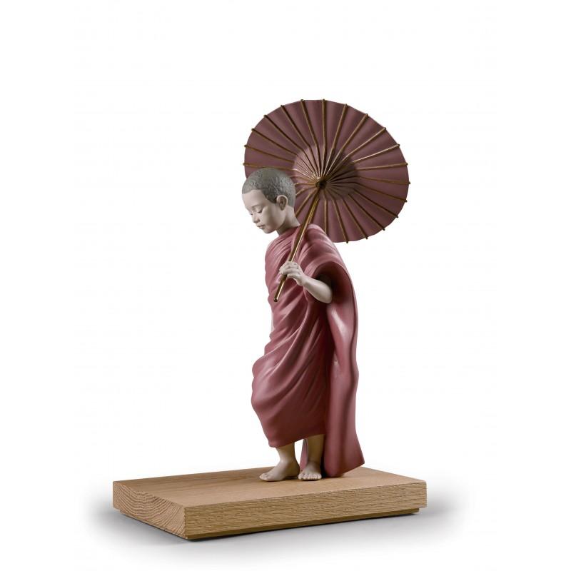 Figura de porcelana Lladró El camino del sol