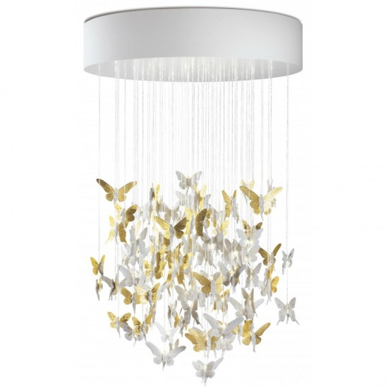 Chandelier Niagara 1.10m dorado (CE/UK)