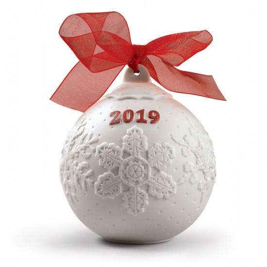Bola Navidad 2019 (Re-Deco rojo)
