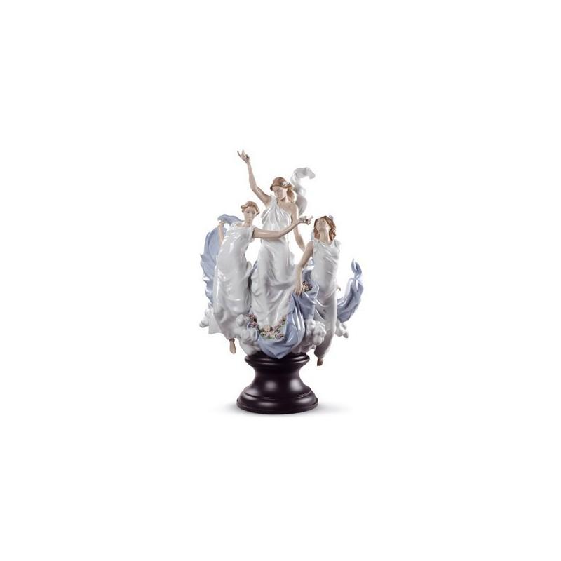 Figura de porcelana Lladró Celebración de la Primavera