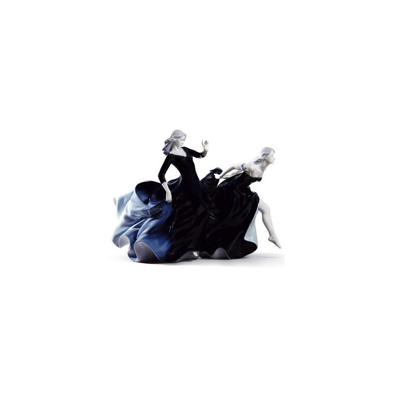 Figura de porcelana Lladró Llega la Noche