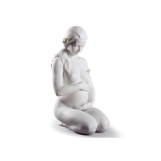 Figura de porcelana de Lladró Una Nueva Vida