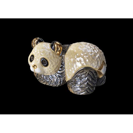 Ceramic figure panda bear by De Rosa