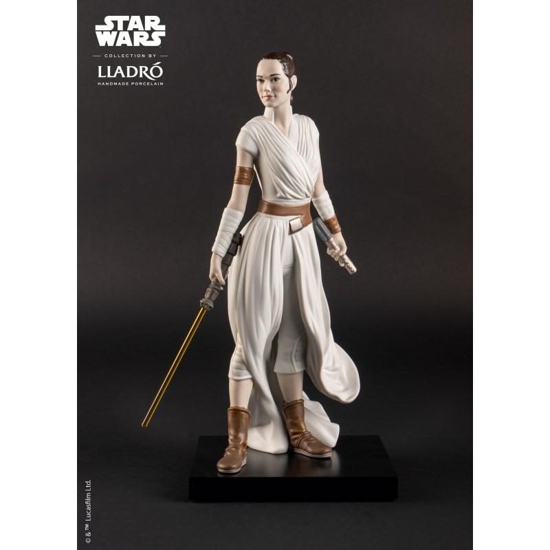Lladró porcelain figure_Star Wars Rey detalle