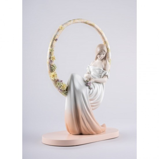 Lladró porcelain figurine In your thoughts