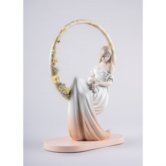 Lladró porcelain figurine In your thoughts_profile