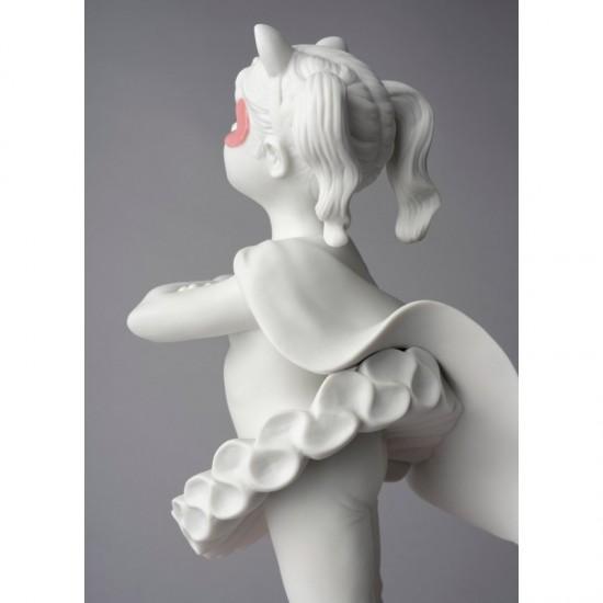 Lladró porcelain figurine Girl I am a superheroine