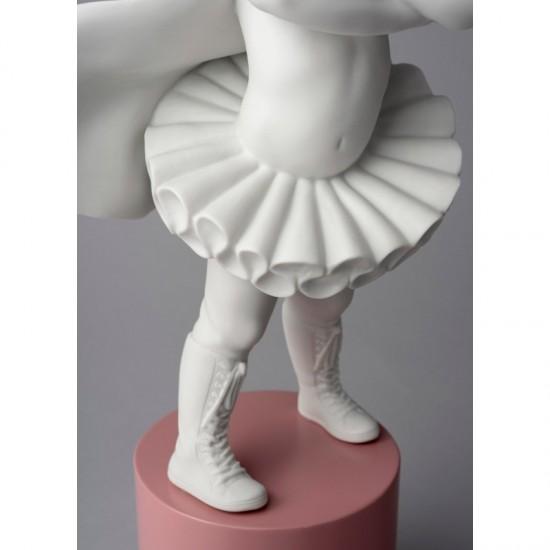 Figura de porcelana Lladró Niña Soy una superheroína