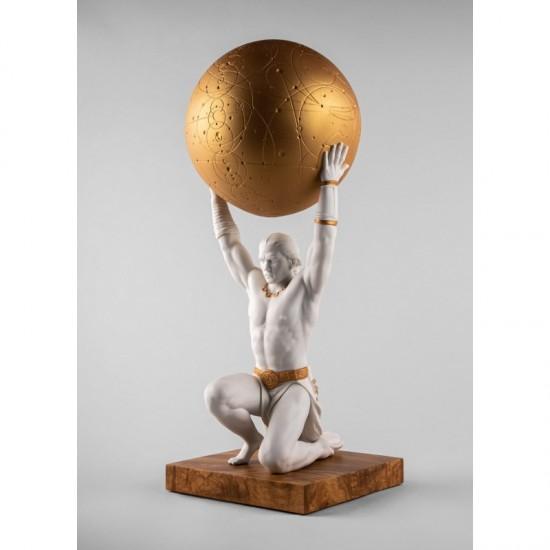 Figura de porcelana Lladró Atlas