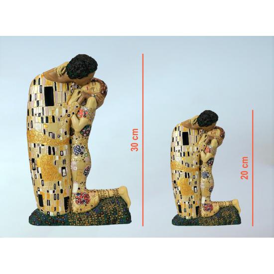 Figura de colección Beso de Gustav Klimt_tamaños