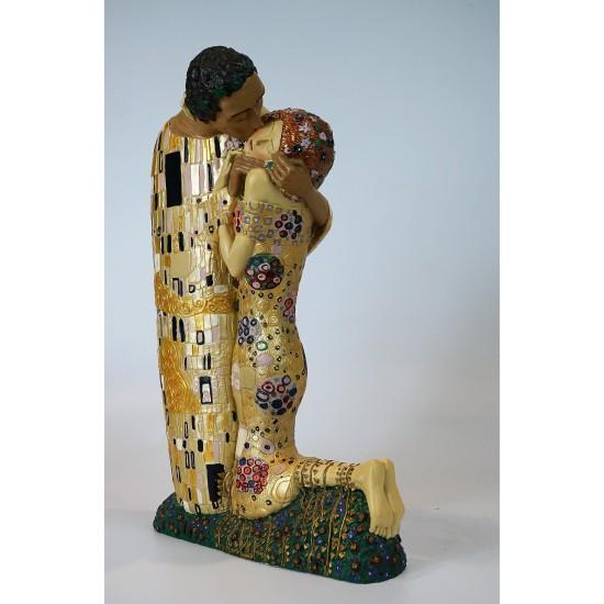 Figura de colección Beso de Gustav Klimt_perfil