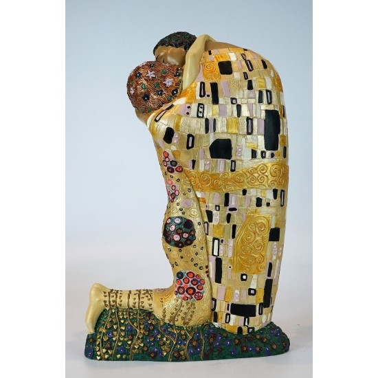 Figura de colección Beso de Gustav Klimt_vista trasera