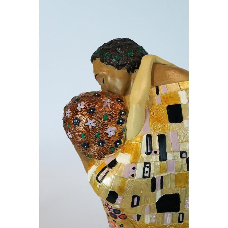 Figura de colección Beso de Gustav Klimt_detalle