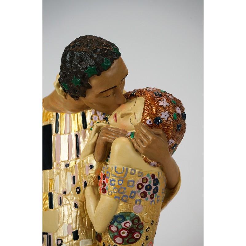 Figura de colección Beso de Gustav Klimt_detalle 2