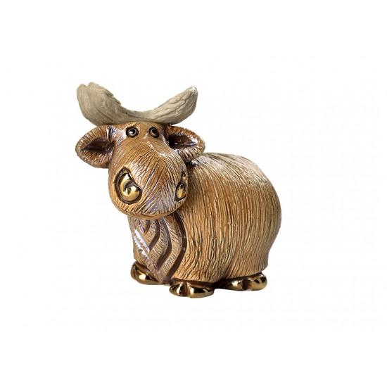 Alce Mini. Animales de cerámica De Rosa
